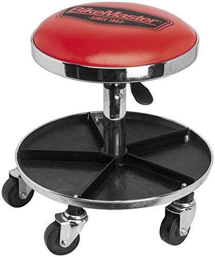 BikeMaster Ultimate Shop Stool with Tool Caddy PWMS-03 (Ultimate Shop)