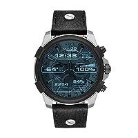 Deals on Diesel DZT2001 On Full Guard Smartwatch 48mm Stainless Steel