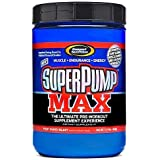 Gaspari Nutrition Superpump MAX 640 g Fruit Punch Pre-Workout Nitric Oxide Energy Supplement