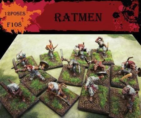- Caesar Miniatures Fantasy Series: Ratmen