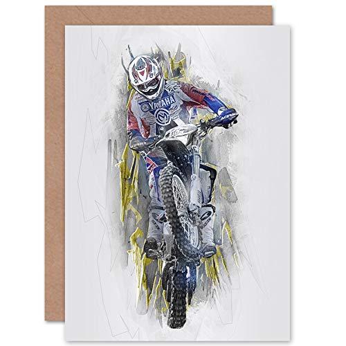 Fine Art Prints Dirt Bike Motocross Sport Graphic Greetings - Sport Moto Graphic