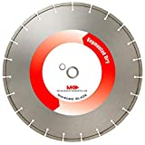 MK Diamond 140251 MK-414D 14-Inch Dry Cutting Segmented Diamond Saw Blade with 1-Inch