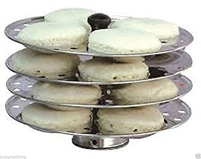 New 4 piece idli stand/stainless steel 16 piece idli making tool/cookware