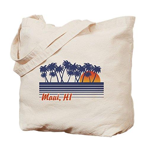 CafePress–Maui Hawaii–Gamuza de bolsa de lona bolsa, bolsa de la compra Small caqui