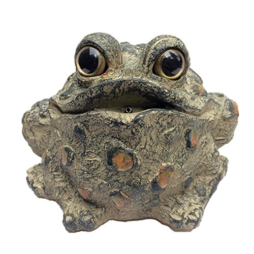 Toad Hollow Croaking Cromwell the Motion Activated Frog