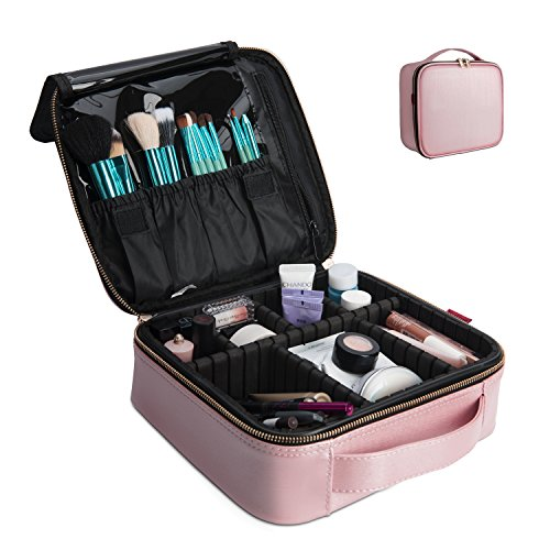 NiceEbag Professional Makeup Case for Make Up Artist, Waterp