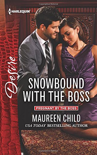 book cover of Snowbound with the Boss