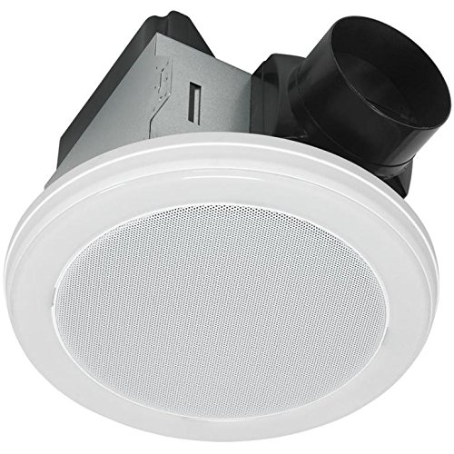 Bluetooth Stereo Speaker Bath Fan With Led Light