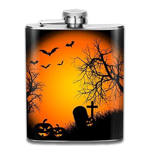 WLLWpl HD-Desktop-Halloween-Wallpaper Stainless Steel Unique Portable Hip-Flask Outdoor With Funnel Wine (Happy Halloween Wallpapers Desktop)