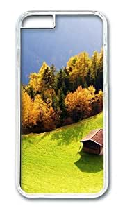 MOKSHOP Adorable Landscapes 17 Hard Case Protective Shell Cell Phone Cover For Apple Iphone 6 (4.7 Inch) - PC Transparent