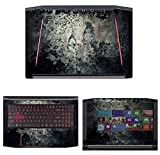 "Decalrus - Protective Decal Skin Sticker for Acer Predator Helios 300 G3-571 (15.6"" Screen) case cover wrap ACpredatorHelios300_G3-571-168"