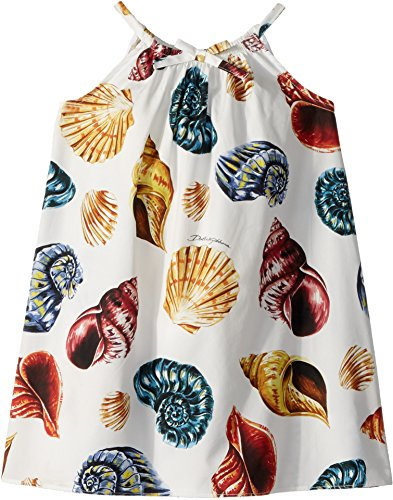 Dolce & Gabbana Kids Baby Girl's Dress (Toddler/Little Kids) White Print 3T by Dolce & Gabbana