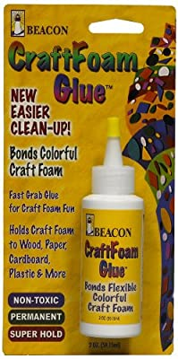 Beacon Craft Foam Glue, 2-Ounce