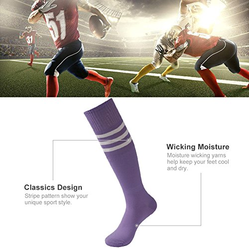 Triple 6 Athletic Calcetines 3street Tube Stripes Rising P 10 Soccer Pares 2 Unisex ExEwqBA8