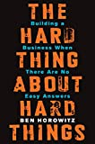Ben Horowitz, cofounder of Andreessen Horowitz and one of Silicon Valley's most respected and experienced entrepreneurs, offers essential advice on building and running a startup—practical wisdom for managing the toughest problems busi...