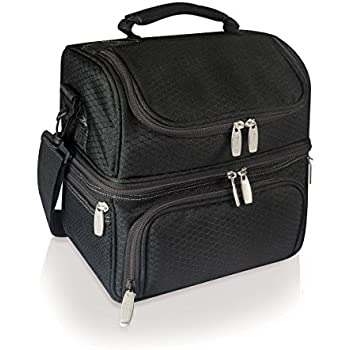 Picnic Time 'Pranzo' Insulated Lunch Tote, Black