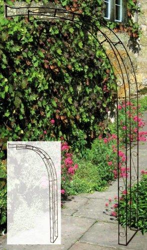 Country Garden Anlehnrosenbogen 'Genoveva'