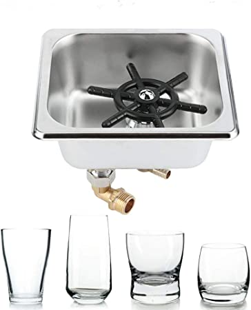 19.50] 304 Stainless Steel Coffee Cup Washer Bar Milk