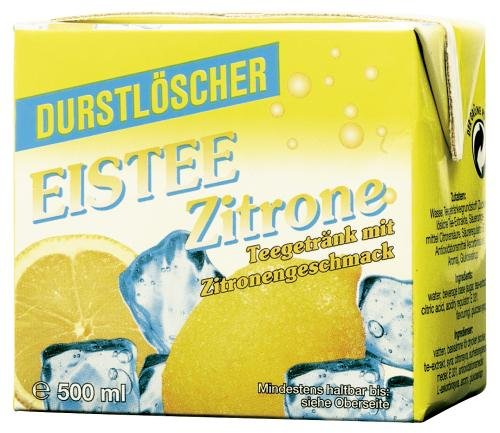 WeserGold Eistee Zitrone, 12er Pack (12 x 500 ml)