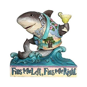 Enesco Margaritaville by Jim Shore Pint Sized Shark on Wave