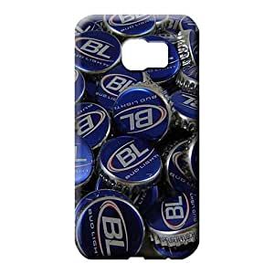 samsung galaxy s6 mobile phone back case Retail Packaging Proof Hot New bud light