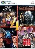 Adventure 4 Pack - Includes: Gray Matter, Black Mirror II, Alter Ego, Rockin' Dead