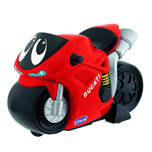 Chicco Turbo Touch Moto Ducati, Color Rojo