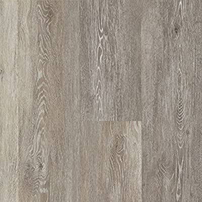 Armstrong Luxe Rigid Core Limed Oak Chateau Gray Luxury Vinyl Flooring A6414 SAMPLE