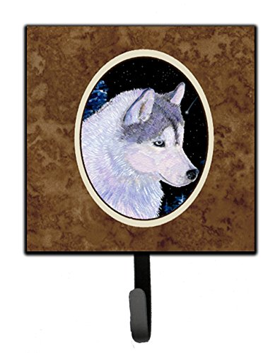 (Caroline's Treasures SS8617SH4 Siberian Husky Leash Holder or Key Hook, Small, Multicolor)
