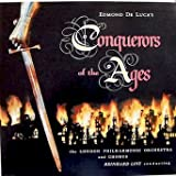 Conquerors Of The Ages - Edmund De Luca, London Philharmonic Orchestra, (Booklet Enclosed) Tracklist: Theme And Prelude The Ages. Alexander The Great.The Caesars. Attila The Hun . Genghis Khan. Cortez .Napoleon Bonaparte. Adolf Hitler And Finale