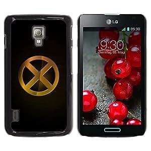 LECELL -- Funda protectora / Cubierta / Piel For LG Optimus L7 II P710 / L7X P714 -- X --