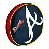 The Northwest Company Atlanta Braves MLB 15in Cloud Travel Pillow