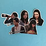 April Ludgate Parks and Rec Sticker Set