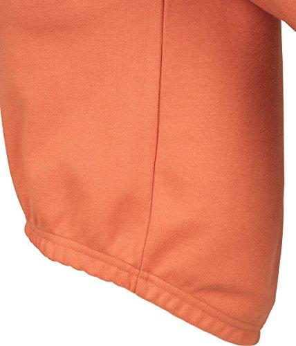 Short 1150 Interlock Rust Felpa Orange Classics Orange Hoody Ladies Urban Donna twOvgT