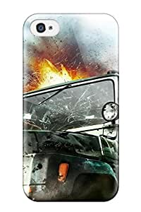 Premium 2010 Just Cause 2 Game Back Cover Snap On Case For Iphone 4/4s