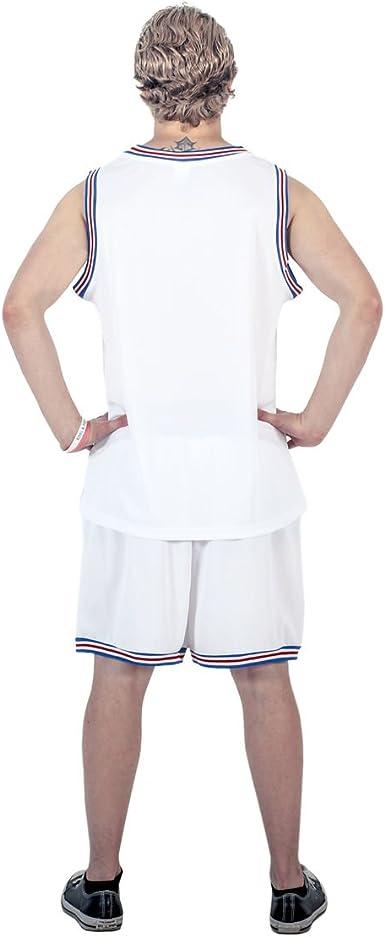 Space Jam Tune Squad Logo White Basketball Jersey