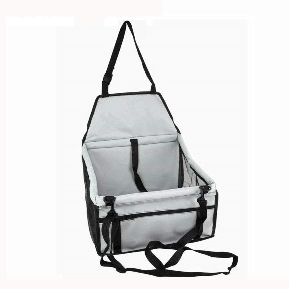 Pet Reinforce Car Booster Seat for Dog Cat Portable and Breakable Bag with Seat Belt Dog Carrier Safety Stable for Travel Look Out