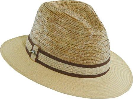 4b091a7ddbc Tommy Bahama Men s Buri Braid Fedora With Braid Hat