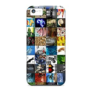 WMs35331rFno Snap On Cases Covers Skin For Iphone 5c(mixed)