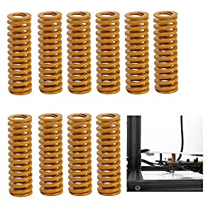 Creality Original 3D Printer Parts 8mm OD 25mm Length Compression Mould Die Springs Light Load for Heated Bed Ender 3 CR-10 CR-10Mini CR-10S/S4/S5 Series 3D Printer (Pack of 10) by Creality 3D