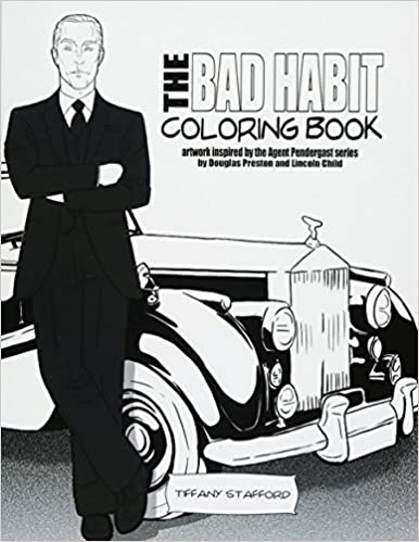 The Bad Habit Coloring Book Artwork Inspired By The Agent