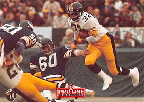 Franco Harris football card (Pittsburgh Steelers Hall of Famer) 1993 Classic #517 Immaculate Reception