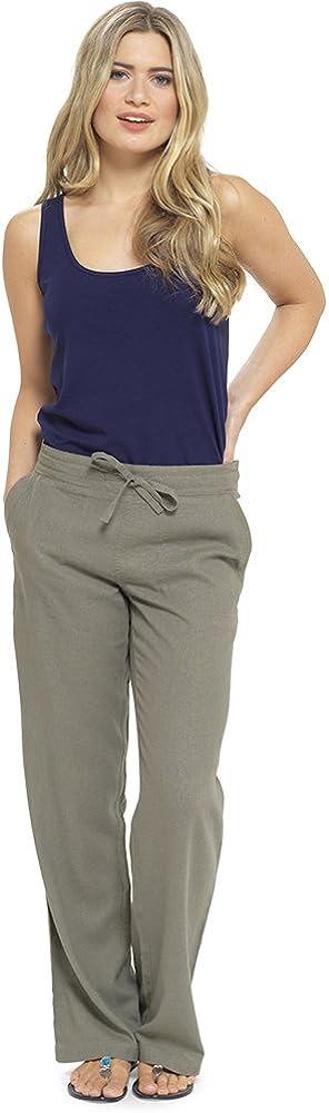 Independiente Alergico Imperial Pantalones De Lino Para Mujer Ocmeditation Org