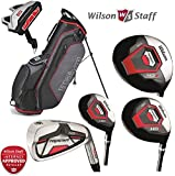 Wilson Prostaff HDX Mens Complete Club Set Golf Package Fitted With Steel Shafted Irons & Graphite Shafted Woods Mens Right Hand