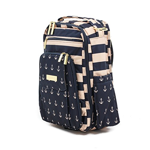 1adfe22b94eb Jujube Be Right Back Multi-functional Structured Backpackdiaper Bag,  Nautical Collection - The Commodore