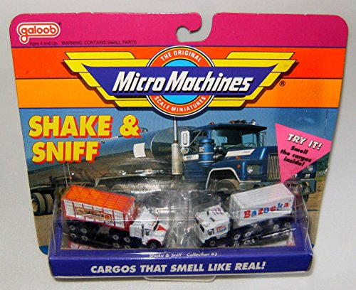(Micro Machines Shake & Sniff Collection #3)