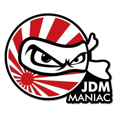 Amazon.com: JDM MANIAC NINJA JDM Sticker Decal: Automotive