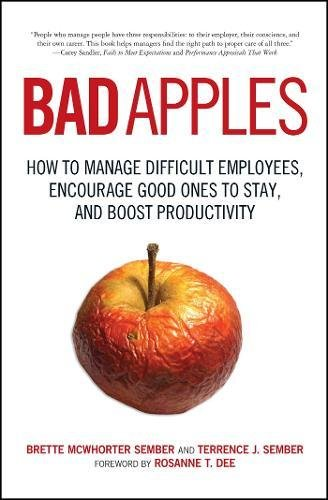 Bad Apples Difficult Employees Productivity product image