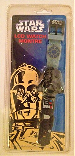 Lcd Package - Star Wars 1997 Canada Exclusive Darth Vader LCD Watch C-3PO Package