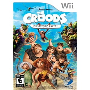 The Croods: Prehistoric Party! - Nintendo Wii